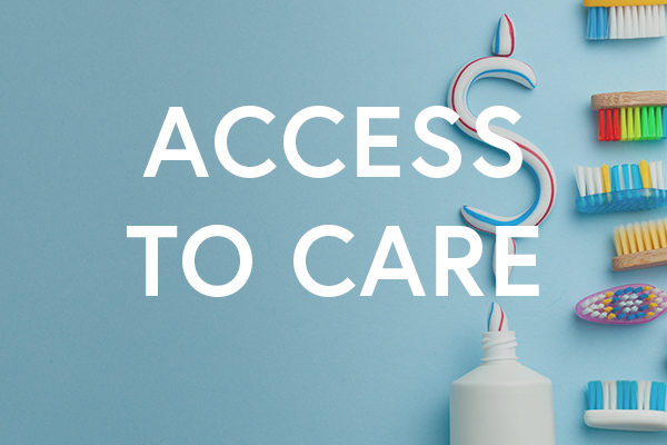 Access to dental health care is important